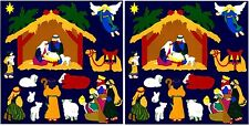 Mrs Grossman's Christmas NATIVITY Scrapbook Stickers! 2 Sheets!