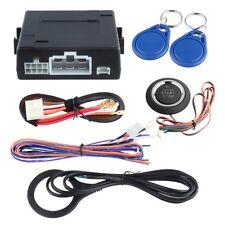 RFID car alarm system W transponder immobilizer push button start & keyless go