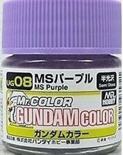 MR HOBBY SPECIAL GUNDAM MODEL COLOR PAINT 10ml UG08 MS PURPLE US