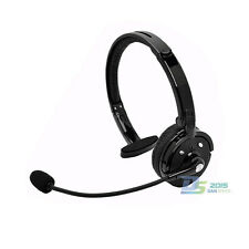 Wireless Bluetooth Headphone Headset Earphone with Mic for Truck Driver PS3 PC
