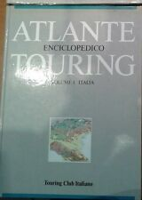 ATLANTE ENCICLOPEDICO 1986 TOURING CLUB ITALIANO 1° vol. Italia