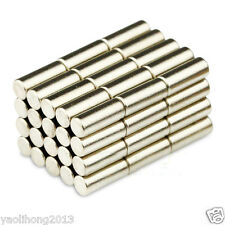 50pcs N35 Strong Mini Bar Cylinder Magnet 3 X 10mm Round Rare Earth Neodymium