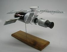 Skylab Space Station NASA Kiln Dry Mahogany Desktop Wood Model Small New