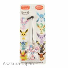 Pokemon Center Original pokémon time Eevee COLLECTION Sylveon Figure Strap