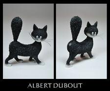 Les chat de Albert Dubout GATTO SCULTURA * MIGNONETTE *