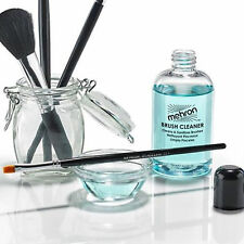 Brush Treatment Cleaner deodorizer face paint mint sanitize Mehron MUA makeup TV