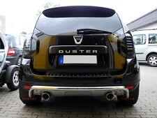 Silencieux D'échappement Duplex 90mm Dacia Duster 4x4 Diesel Échappement Sport
