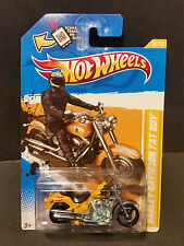 2012 Hot Wheels #030 - 2012 New Models 30/50 - Harley Davidson Fatboy