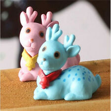 Miniature Dollhouse Garden Craft Fairy Bonsai DIY Decor ~Sika Deer~ 1PC♫