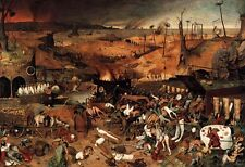 Large Oil painting Pieter Bruegel the Elder - The Triumph of Death on canvas