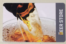 The BEER STORE Pouring Beer Collectible gift card (NCV) Bilingual