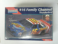 Monogram #2465 1/24 Scale #16 Family Channel Ted Musgrave Thunderbird New Sealed