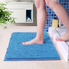 Absorbent Soft Shaggy Non Slip Bath Mat Bathroom Shower Home Floor Rugs Carpet