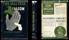 Dashiell Hammett -THE MALTESE FALCON - Modern Library 1st.
