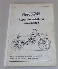 Werkstatthandbuch Maico MC / GS 125/T von 2/1978