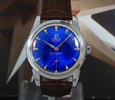 Vintage 1958 Men's Omega Automatic Seamaster 19 Jewels One Year Warranty