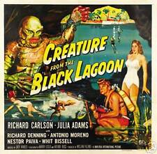Vintage Creature From The Black Lagoon 12x18 Lobby Movie Print Poster 8054