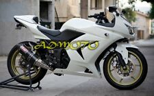 Fairings Kit w/ Tank Cover for Kawasaki Ninja 250R EX250 2008-2012 White