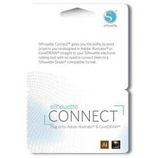 Silhouette CONNECT Plugin Card for Adobe Illustrator or CorelDRAW