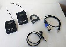 Sennheiser EW 100-ENG G2 Wireless Transmitter & Receiver Lav Mic  A 518-554 MHZ