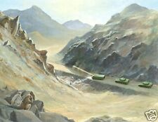 "Soviet Russia War Afghanistan Mobile Laser Edward L Cooper 1985 5x4"" Print"