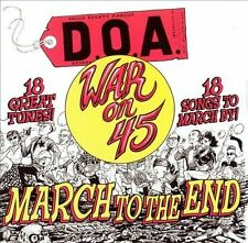 D.O.A. - War on 45 18-Song Re-issue CD  VG++