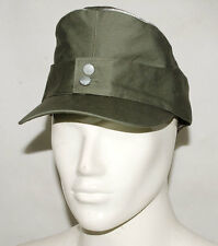 WWII GERMAN WH OFFICER SUMMER PANZER M43 FIELD COTTON CAP M-32172