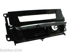 BMW 3 E90 ASHTRAY INFILL FOR HEATED SEATS PIANO BLACK SINGLE DIN 2006 ONWARD
