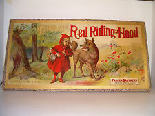 Red Riding Hood Circa 1900  Parker Brothers Ages 18+
