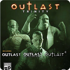 PS4 Outlast Trinity SONY PLAYSTATION Warner Home Video Survival Games PREORDER