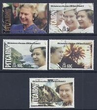 1992 PITCAIRN ISLANDS QEII 40th ANNIVERSARY OF ACCESSION SET OF 5 MINT MNH/MUH