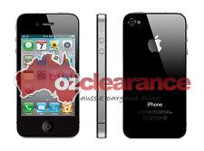 USED B Apple iPhone 4 8GB | Black | Unlocked | Clearance | Minor Crack