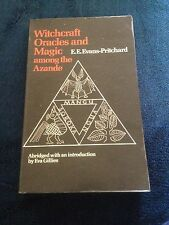E.E. EVANS-PRITCHARD. WITCHCRAFT ORACLES AND MAGIC AMONG THE AZANDE 0198740298