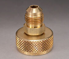 "Ritchie Yellow Jacket 19105 3/4"" NPS Cylinder Valve Adapter with 1/4"" Male Flare"