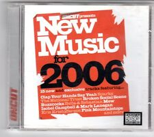 (GQ223) New Music For 2006, 15 tracks various artists - 2006 - Uncut CD