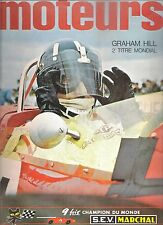 MOTEURS 70 1968 24H MANS CANAM TOUR DE CORSE MERCEDES 280 SL GP USA CANADA MEXIQ