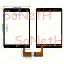 "Vidrio Touch screen Digitalizador 7,85"" BRONDI SURFING TAB A 3G Tableta PC Negro"