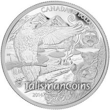 Canada 2014 Native American Legend of Spirit Bear $50 5 Oz Pure Silver Proof