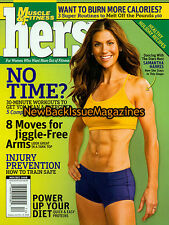 Muscle & Fitness Hers 12/08,Samantha Harris,December 2008,NEW