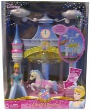 DISNEY PRINCESS ENCHANTED PLAYGROUND CASTLE CAROUSEL CINDERELLA 2006 *NEW*