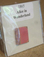 Dolls House 12 scale Book  Alice in Wonderland