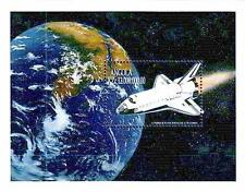 ANGOLA 1999 SPACE SHUTTLE=APOLLO 11 S/S MNH ** FREE POSTAGE is POSSIBLE