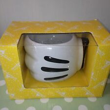 Disneyland DISNEY Mickey Mouse Hand Raised Coffee Mug / Cup - Rare Collectable