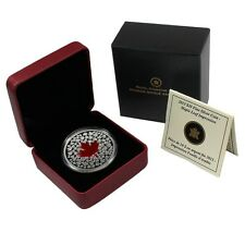 2013 $20 Maple Leaf Impression Colorized DC (Proof) Silver Commemorative
