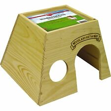 Kaytee Woodland Get-A-Way Large Guinea Pig House 9-Inch long, 10-inch wide, 7