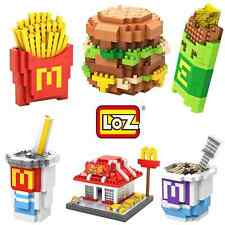 McDonald 6 sets Nano Block LOZ diamond micro mini educational building toy gift