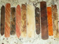 Hand Made Exotic Wood Bookmarks, Simple and Elegant, Many Choices. Small