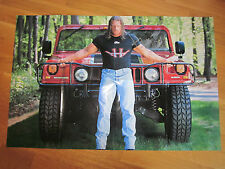 WWE WWF TRIPLE H HHH AUTOGRAPHED HAND SIGNED POSTER