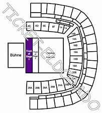 Depeche Mode Frankfurt Arena Front of Stage 1 Tickets Karten 20.06.2017 FOS