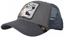 Goorin Bros. Trucker hat snapback cap Lassy  Animal Farm Gray adjustable